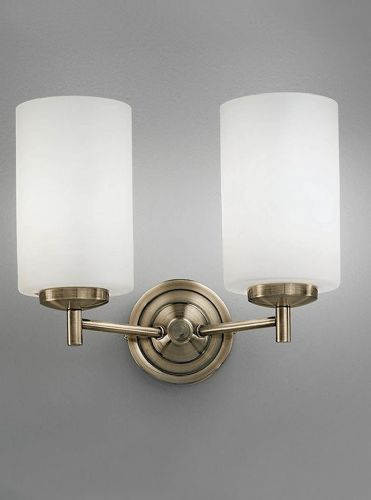 Franklite FL2253/2 Bronze Wall Light